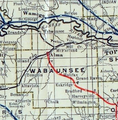 Stouffer's Railroad Map of Kansas 1915-1918 Wabaunsee County.png