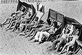 Stranden, strandstoelen, strandgasten, badkleding, Bestanddeelnr 927-9324.jpg