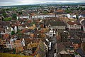 Strasbourg vu de la Cathédrale vers la Place Gutenberg.jpg