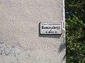 Street sign, Hamzsabégi út, 2017 Lágymányos.jpg