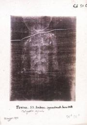 Secondo Pia's negative of the image on the Shroud of Turin has an appearance suggesting a positive image. Many Christians believe this image to be the face of Jesus