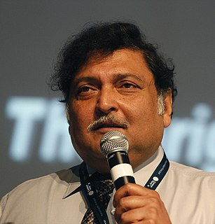 """Sugata Mitra Indian computer scientist, best known for his """"Hole in the Wall"""" experiment"""