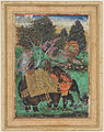 Sultan Ibrahim Adil Shah II Riding His Prized Elephant, Atash Khan.jpg