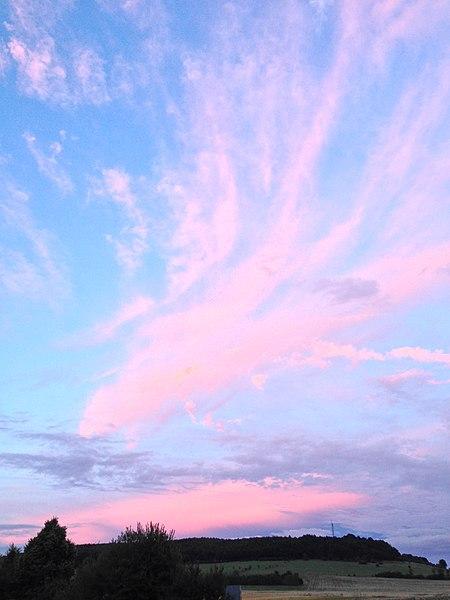 Evening, Summer, August