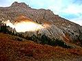 Sunlight on Potosi Peak, Looking NE, Ouray Co., CO, USA - panoramio.jpg