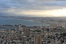 Sunrise at Haifa Bay.jpg