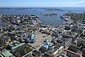 Suomen Ilmakuva - Aerial photograph from the center of Helsinki to the sea in 2015.jpg