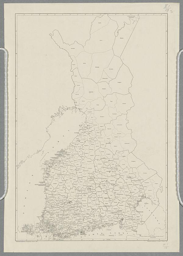 Luettelo Suomen Kihlakunnista Wikiwand