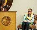 Supreme Court Justice Ruth Bader Ginsburg Visits Mililani High School Oahu Hawaii (51080776858).jpg
