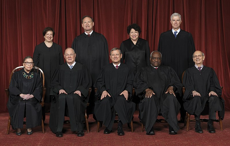 Supreme Court of the United States - Roberts Court 2017.jpg