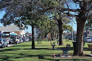 Swan Hill City in Victoria, Australia