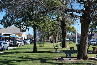 Swan Hill - A park in central Swan Hill