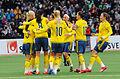 Sweden - Denmark, 8 April 2015 (16901356019).jpg