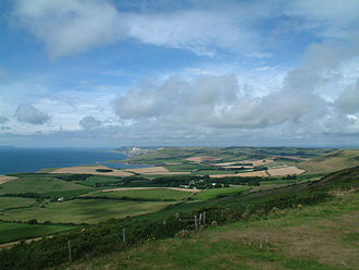Swyre Head - Image: Swyre Head view