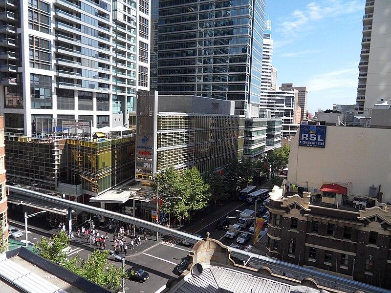 Lojas requintadas em Sydney