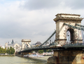 Széchenyi Chain Bridge in Budapest, connecting Buda with Pest, by Silar 2010 009.png