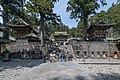 Tōshō-gū, Nikko, South view towards Yōmeimon 20190423 1.jpg
