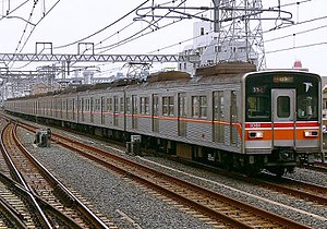 Tōyō Rapid 1000 series - Set 1081 in September 2006