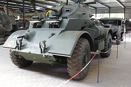 T17E1 Staghoud in Oorlogsmuseum Overloon