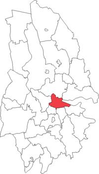 Örebro by i Örebro amt