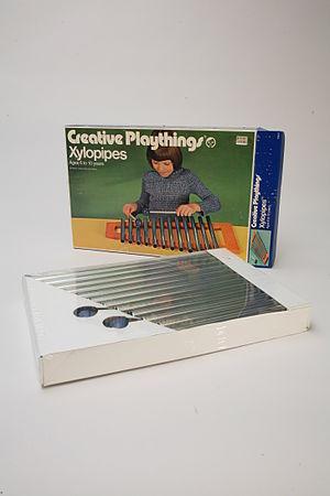 John Rosenbaum - Xylopipes, designed by Rosenbaum for Creative Playthings, ca 1960s