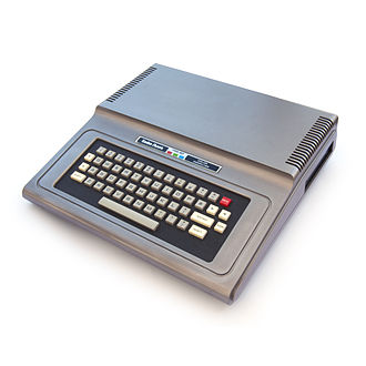 TRS-80 Color Computer - Image: TRS 80 Color Computer 1 front right