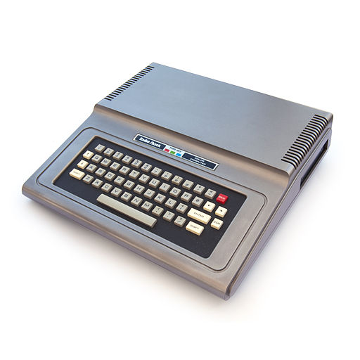 TRS-80 Color Computer 1 front right