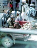 Wspólne zdjęcie dżihadystów przed objazdem
