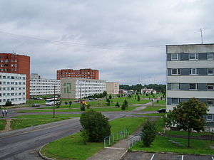 Stadtansicht von Ahtme