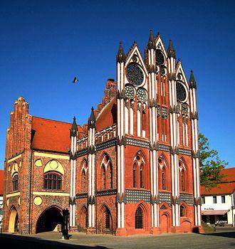 1430s in architecture - Image: Tangermünde Rathaus 02