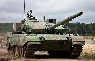 Type 96 tank - Type 96A at Tank Biathlon 2014.