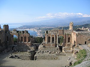 Greek Theater - Taormina, Italy