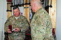 Task Force Centurion Commander U.S. Army Brig. Gen. William A. Hall, received a state medal from the office of the Defense Minister of Georgia for his outstanding support of the Georgia 130324-A-QL246-125.jpg