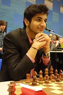 Vidit Gujrathi Indian chess grandmaster