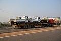 Tata 407 Pickup Truck Transportation - NH 16 - Pahal - Bhubaneswar 2018-01-26 0193.JPG