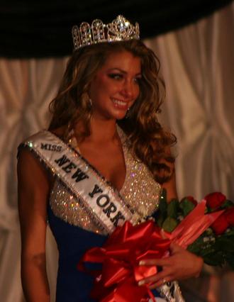 Miss New York Teen USA - Tatiana Pallagi after winning the Miss New York Teen USA 2007 title