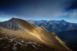 Tatrabjergene: TatraMountains-CzerwoneWierchy