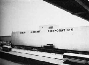 Temco Aircraft - The Temco plant at Dallas in the late 1950s.