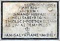 Tempietto del Bramante Inschrift Krypta.jpg
