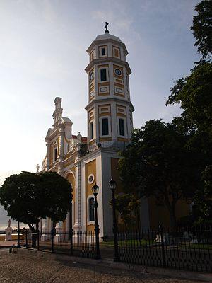 St. Thomas Cathedral, Ciudad Bolívar - Image: Templos al Oro
