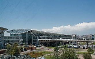 Comodoro Arturo Merino Benítez International Airport - Image: Terminal Aeropuerto Pudahuel
