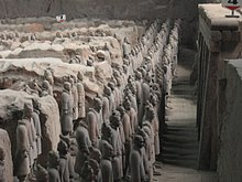The Terracotta Army of Qin Shi Huang.