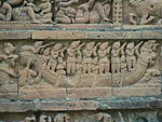 Terracotta work on Jor Bangla temple, Bishnupur 3.JPG