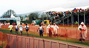 1999 IAAF World Cross Country Championships - Runners in action at the championships