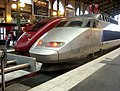 Tgv reseau and thalys pbka at paris gare du nord.jpg