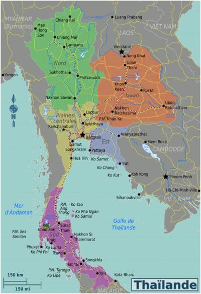 Thailande Carte Langues.Thailande Wikivoyage Le Guide De Voyage Et De Tourisme