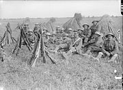 The Battle of the Somme, July-november 1916 Q1081