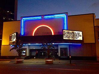Beacham Theatre - Exterior of venue (c.2016)