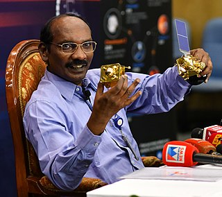 Kailasavadivoo Sivan Chairman, Indian Space Research Organisation