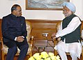 The Chief Minister of Andhra Pradesh Shri Y.S. Rajasekhara Reddy calling on the Prime Minister Dr. Manmohan Singh in New Delhi on January 12, 2007.jpg